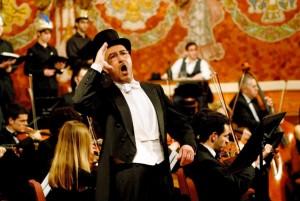 Lluís Sintes en una de sus actuaciones anteriores. Foto: Ll. S.