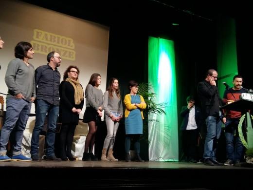 Pilar Benejam, Ester Marquès y Bep Marquès, fabiols de plata como 'Ciutadellencs de s'Any'