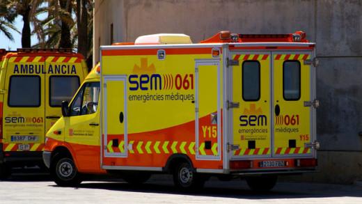 Ambulancias en Tarragona.