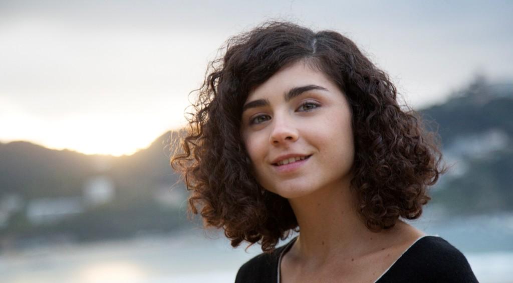 La actriz Olivia Delcán. Foto: Sergio Lardiez.