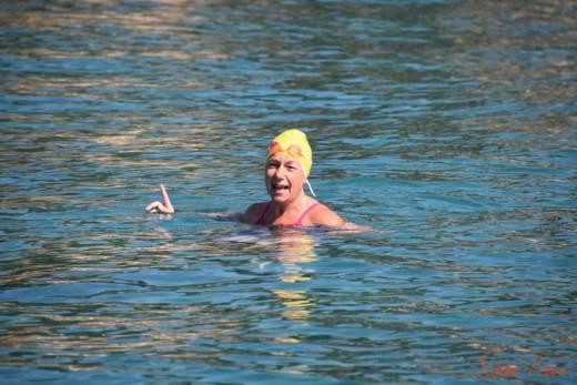 La nadadora menorquina Tita Llorens. Foto: Francesc Pons.