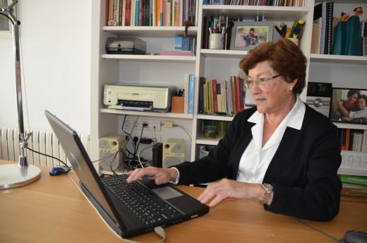 La pedagoga de pedagogos Pilar Benejam. Foto: M. Assumpta Sendra Mestre.