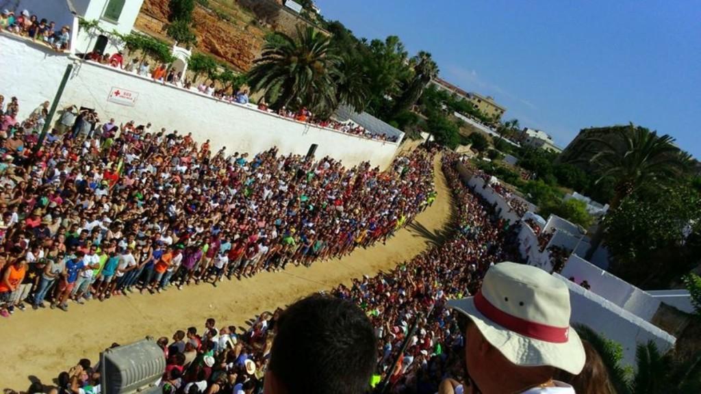 Jocs des Pla durante la mañana del día de Sant Joan 2015. Foto: Llorenç Allès.