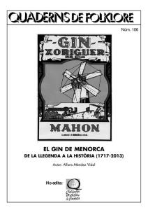Portada del nuevo Quadern de Folklore, el número 106. Foto: Col·lectiu Folklòric Ciutadella.