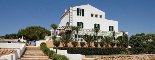 Sant Joan de Binissaida, uno de los hoteles de turismo rural en Menorca. FOTO.- SJB