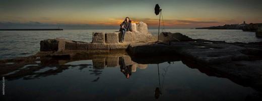 Una de las fotografías realizadas en sa Cetària de Ciutadella. Foto: Xavi Moya.