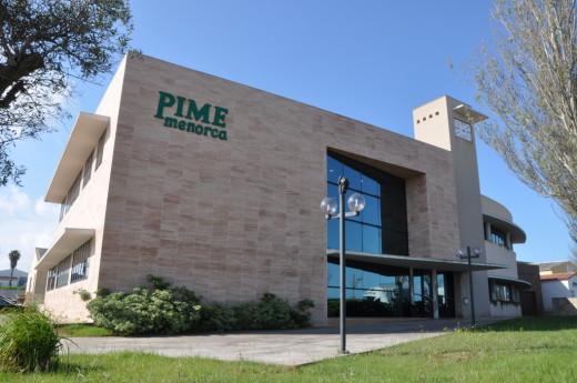Oficina de PIME en Maó.