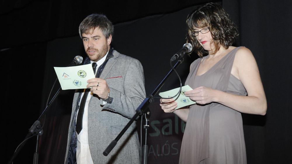 Bep Marquès y Fina Fernández, integrantes de la D9 Don Bosco, también actuaron como algunos de los presentadores.