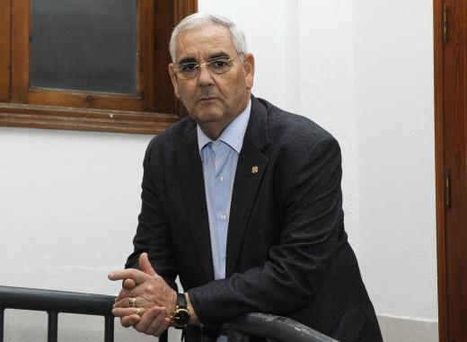 Pedro Arguimbau es el nuevo presidente de la UAADB Ciutadella. Foto: Tolo Mercadal.