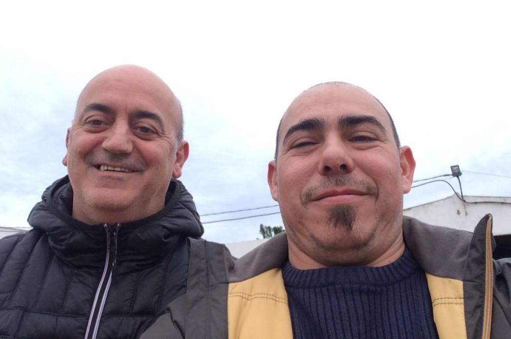 El jefe de sala Pere López y el chef Dani Florit gestionarán ahora Ca n'Aguedet. Foto: D.F.S.