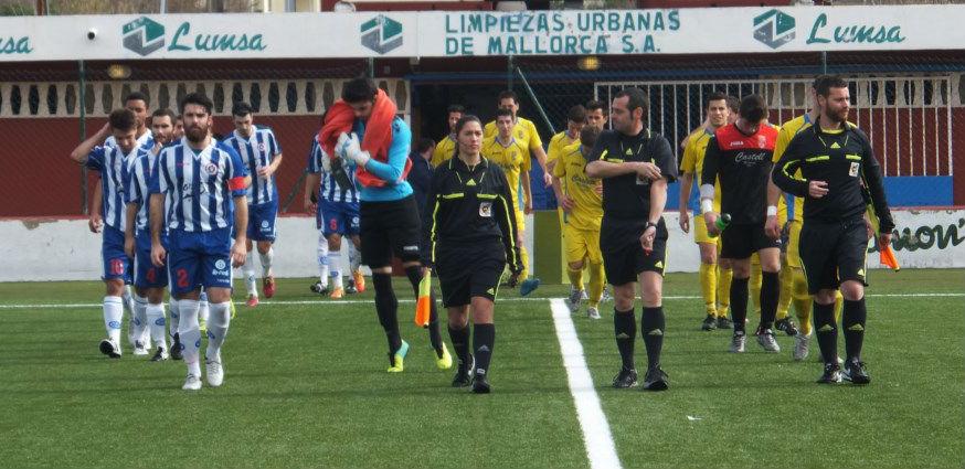 El Penya cayó por 4-1 en el campo del Alcudia el pasado fin de semana (Foto: futbolbalear.es)