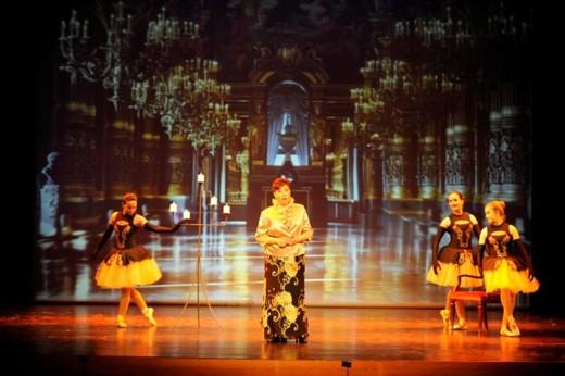 Imagen de una gran gala de ópera anterior en el Orfeó Maonès.