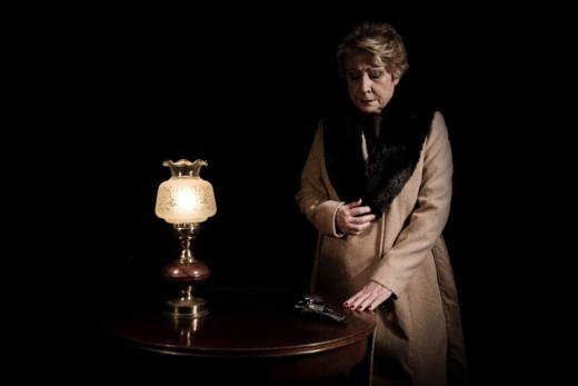 La actriz menorquina Laura Pons encarna el papel de la hermana de Aurora Picornell. Foto: Produccions de Ferro.