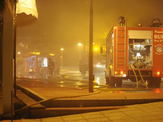 Arde la discoteca Copacabana de Son Bou (ampliación)