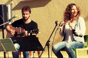 Àngels Anglada y Simó Bosch estarán en el concierto del Casino 17 de Gener. Foto: Angels i Simó.