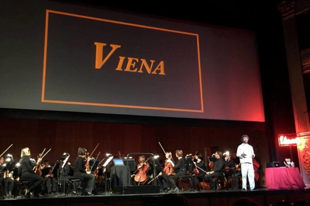 Momento de la representación de 'Viena' en Palma. Foto: OSIB.