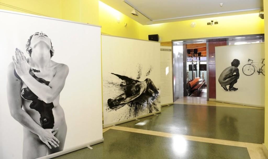 Algunas de las fotografías de 'Identitat esculpida'. Foto: Jordi Estruch.
