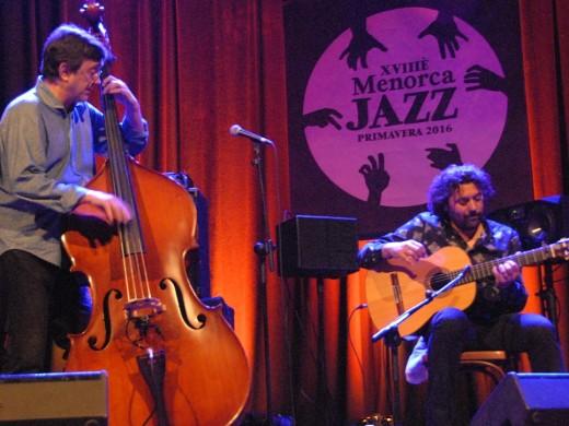 El Menorca Jazz se estrena con el público en pie aplaudiendo