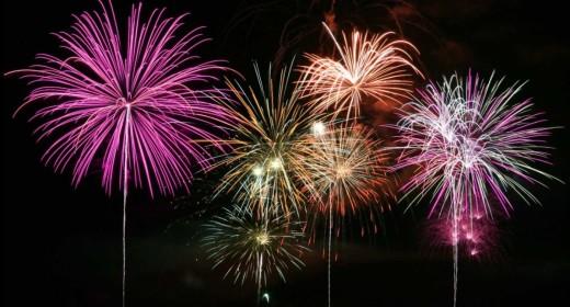 En Es Castell se dispararán fuegos artificiales los días 25 y 26 de julio.