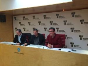 Miguel Ángel Maria, Joan Marqués y Vicenç Arraiz
