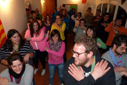 Escoltes de Menorca en una actividad anterior. Foto: www.escoltesmenorca.org