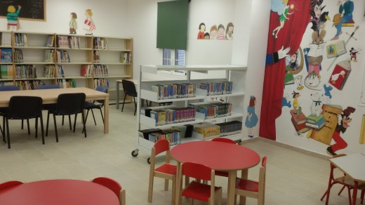 Imagen de la nueva Biblioteca Municipal de Es Castell. Foto: Ayuntamiento de Es Castell