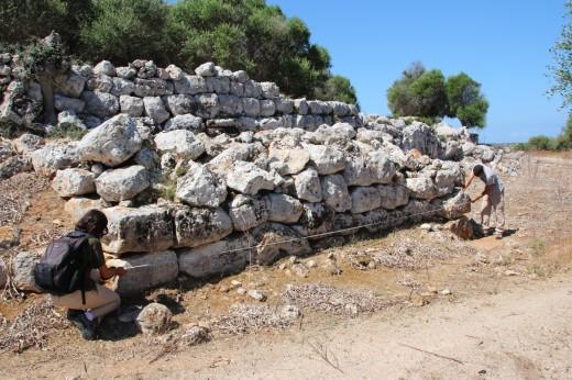 Imagen de los trabajos del Proyecto Modular en Menorca. Foto: Proyecto Modular.
