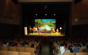 Imagen de uno de los conciertos matinales de 'Nyigo-nyigo' en el Orfeó Maonès. Foto: JJMM-Maó.