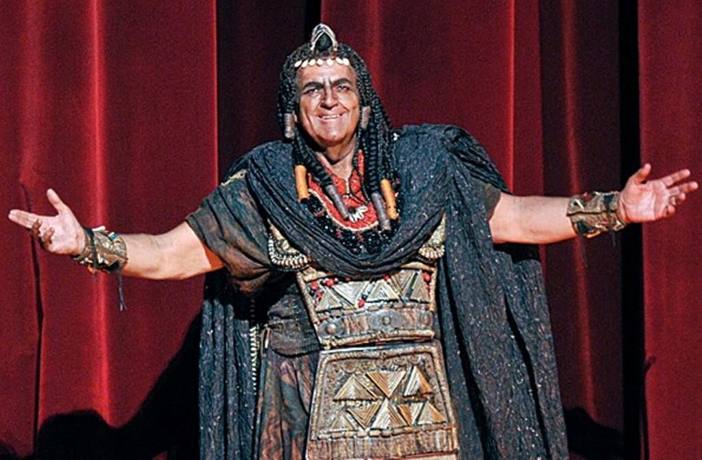 Joan Pons en 'Aida'.