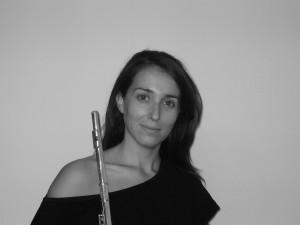 La flautista Marta Alcover Sanchís.