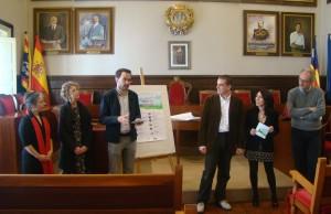 Momento de la presentación del programa 'Obrim la primavera' 2016 en el Ajuntament de Maó. Foto: Ajuntament de Maó.