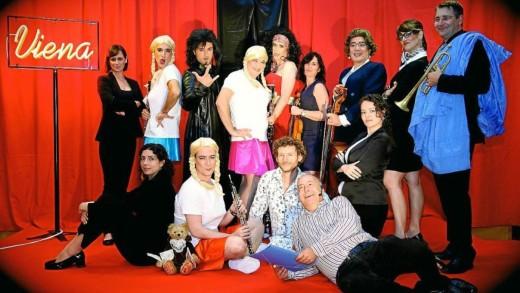 Una de las imágenes promocionales del espectáculo 'Viena' de la OSIB. Foto: OSIB.