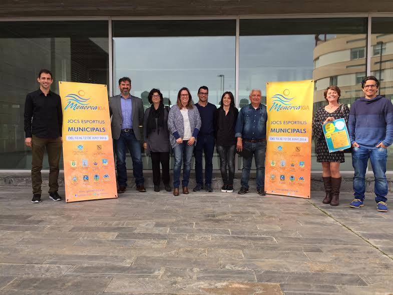 Momento de la presentación del evento esta mañana en el Consell (Foto: Biosport)