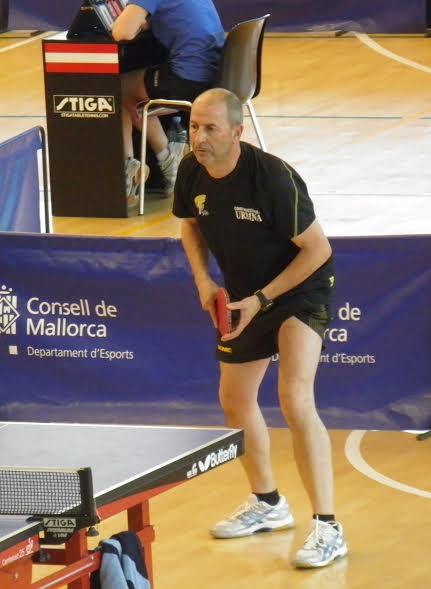 Vidal, tercero en veteranos.