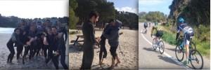 Diferentes momentos del campus que se está desarrollando en Menorca. FOTO.- D.M.-P.R.