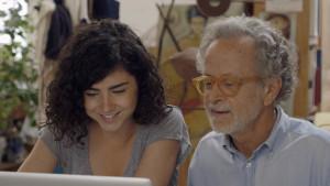 Olivia Delcán y Fernando Colomo en una escena de 'Isla bonita'.
