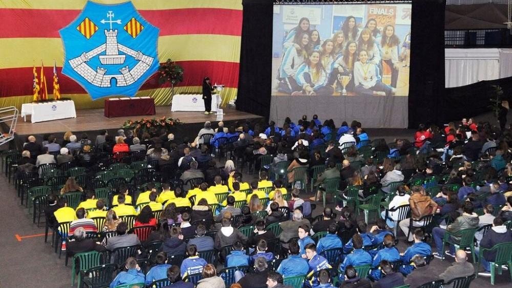 Imagen de la ceremonia de entrega de premios (Fotos: Tolo Mercadal)