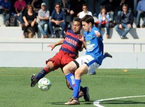 Acción del Barça-Sant Gabriel.