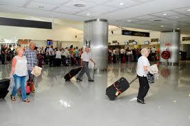Se registró un aumento en el número de pasajeros y de vuelos