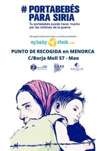 La campaña solidaria también ha llegado a Menorca