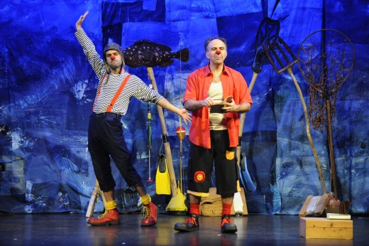 Suli y Monyaco durante su última actuación en el Orfeó Maonès. Foto: Tolo Mercadal.