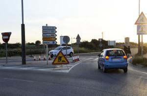 Los coches circulan sin problemas. (Foto: Tolo Mercadal)