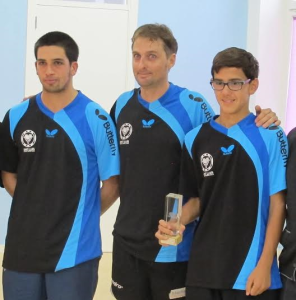 Integrantes del CTT Sant Lluís de Súper Balear.