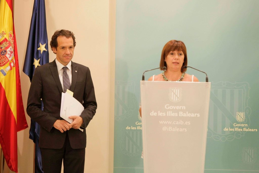 Marc Pons señala que la decisión la tomará Francina Armengol.
