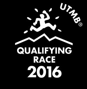 Detalle del logo de la UTMB.