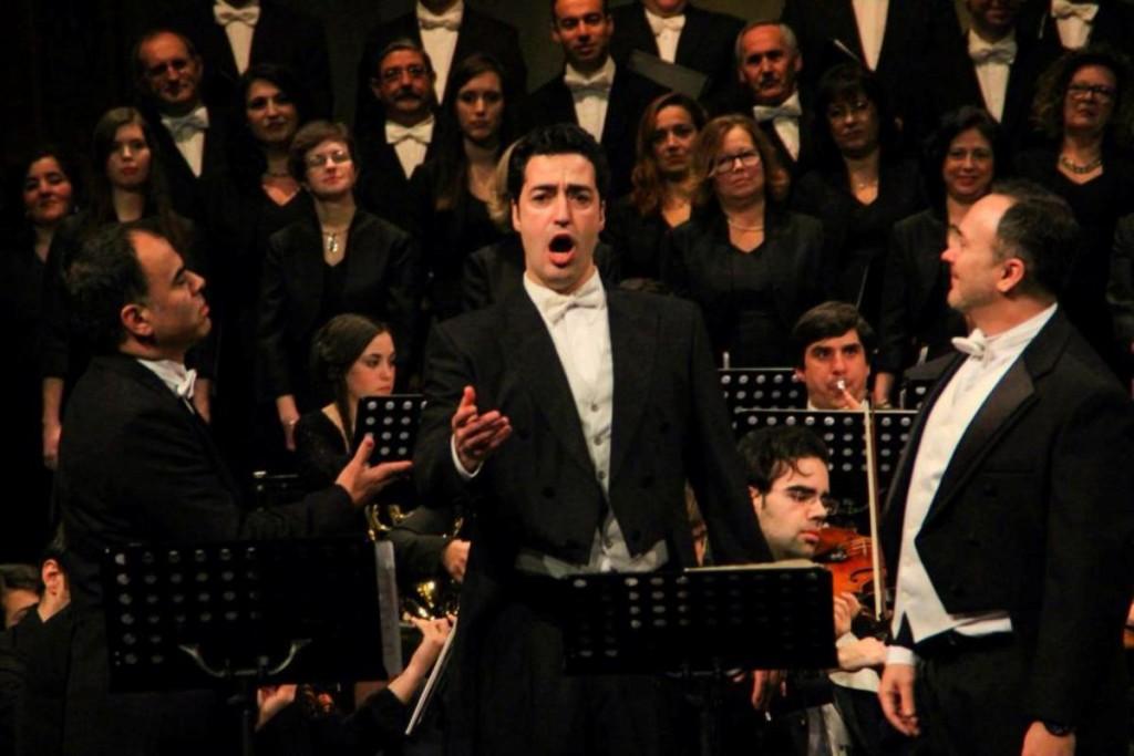 Carlos Llabrés en plena acción, en una foto tomada de su perfil de Facebook.