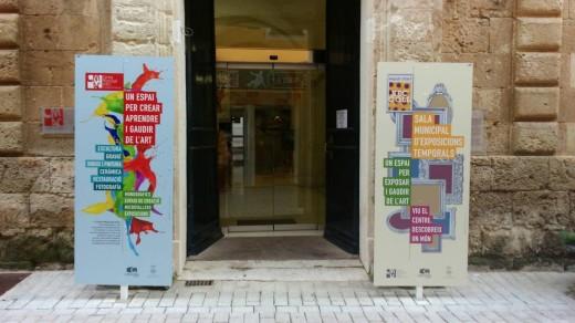 El CMAC se ubica en la calle Seminari de Ciutadella. Foto: Centre Municipal d'Art de Ciutadella.