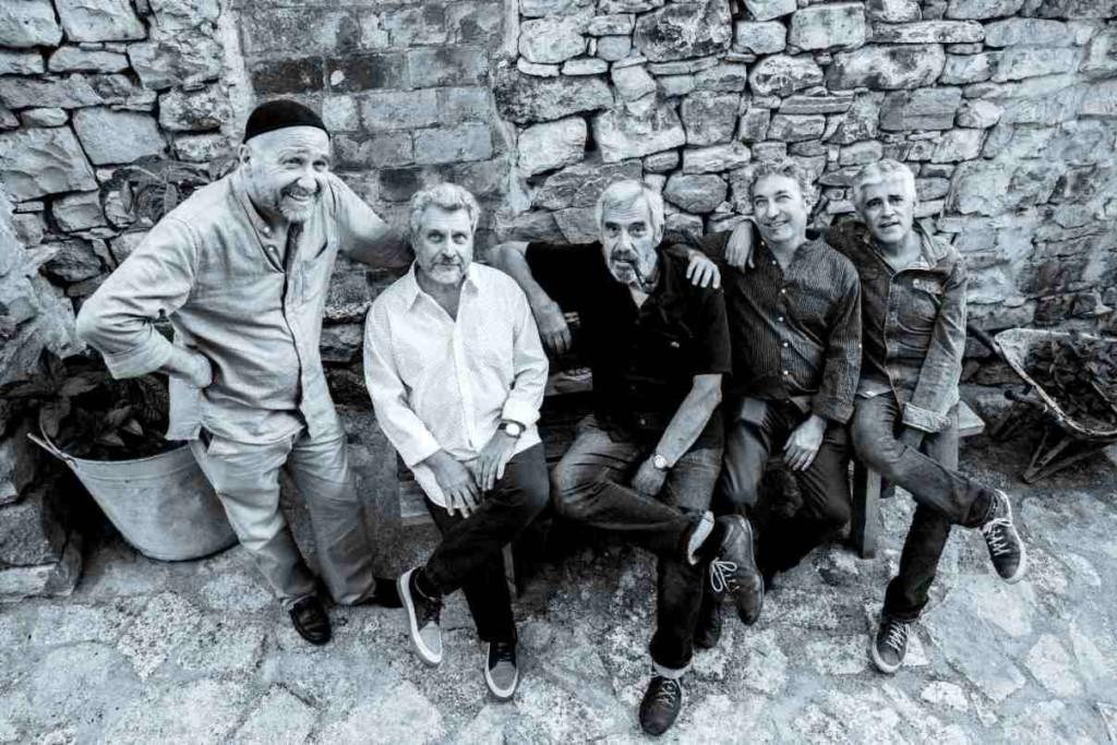 El Manel Camp Quartet con el actor Joan Crosas.