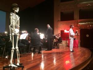 Momento de la representación de 'Viena' en Maó. Foto: CAIB.