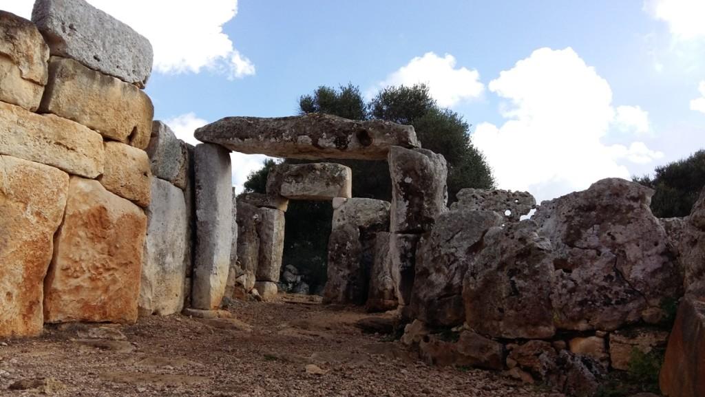 Poblado talayótico de Torre d'en Galmés de Alaior.